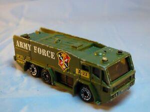 PIONEER GLOSTER SARO JAVELIN NO4 ARMY FORCE VEHICLE 6 Wheels Diecast Diorama Toy