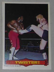 Junkyard Dog 1985-86 O-Pee-Chee WWF Series 2 Rookie Card #22 Twister! WWE Legend