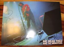 BIG HEAD TODD & The Monsters Group Signed / Autographed in Concert Poster