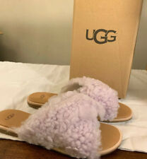 UGG JONI 1019967 LAVENDER FOG, WOMAN'S SIZE 9.5, SLIDES AUTHENTIC BRAND NEW.