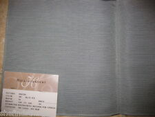 Blue Gray Highland Court Solid Textured Corded Linen Silk Designer Fabric Sample