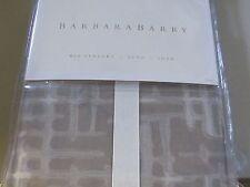 Barbara Barry MID CENTURY Euro SHAM WALNUT Elegant NEW Beautiful!