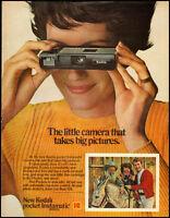 1960's Vintage ad for New Kodak Pocket Instamatic Camera (021613)