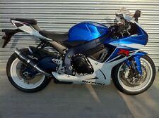 Suzuki GSXR 600 750 K8 K9 L0 Moto GP Style Carbon Race Exhaust Can, Road Legal