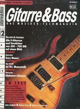 Gitarre und Bass # Dezember 1990 Gary Moore,AC/DC Moneytalk, Alphonso Johnson...