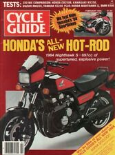1984 February Cycle Guide - Vintage Motorcycle Magazine