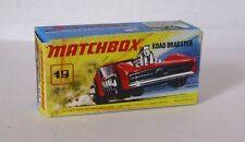 Repro box MATCHBOX superfast Nº 19 road dragster