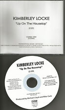 American idol KIMBERLEY LOCKE Up On the Housetop PROMO DJ CD Single 2005 USA