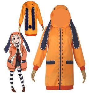 Kids Anime Kakegurui Runa Yomozuki Uniform Coat Loli Cosplay Costume Halloween