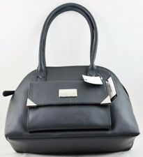 New Nine West Women's Handbag Purse Black Orlando Dome Bag Authentic Ladies