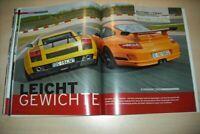 Autozeitung 22389) Porsche 911 GT3 RS mit 415PS besser als...?