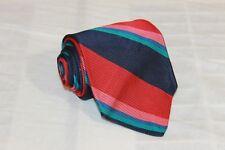 ROBERT TALBOTT FOR NORDSTOM Multi Colored Striped Classic Woven 100% Silk Tie