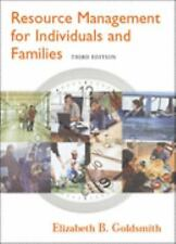 Resource Management for Individuals and Families (with InfoTrac )-ExLibrary