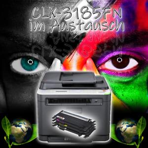 SAMSUNG Multifunktions-Farblaserdrucker CLX-3185FN inkl. neue Toner im Austausch