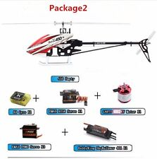 ALZRC 450 Pro V2 FBL Helicopter Super Combo Silver DIY With Housing And Paddle
