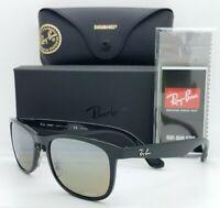 NEW Rayban sunglasses RB4263 601/5J 55mm Black Silver Mirror Chromance AUTHENTIC