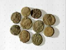 New Listing10 Ancient Roman Coins Ae4 Minime - Uncleaned and As Found! - Unique Lot M09003