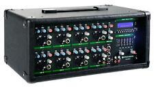 8-Kanal PA Power Mixer Power Mischer Live Mischpult USB SD MP3 Player EQ 2x300W