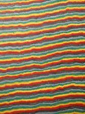 Rainbow SaRaiFo Brett gefärbtes Holz drechseln 63x27cm 25mm