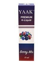 Yaak Premium e-liquid baies Mix dans l'épaisseur de nicotine 6 mg