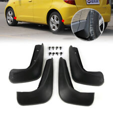HONDA JAZZ 2008-2013 MUD FLAPS MUD SPLASH GUARDS SET OF 4 FRONT AND REAR UK