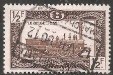 Belgium Parcel Post Stamp - Scott #Q310/Pp32 1/2fr Dark Brown Canc/Lh 1949