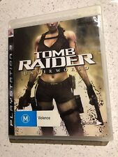 Tomb Raider Underworld (M) PS3 Pal Includes Manual Free Postage