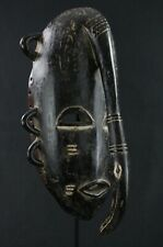 Art Africain Tribal Arts Premiers Tribaux - Masque Djimini Ligbi Oiseau - 29 Cms