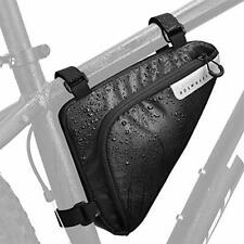 Bike Storage Frame Bag Roswheel Bicycle Front Tube Triangle Water Resistan Black