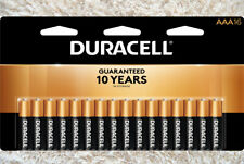 Duracell Coppertop AAA Alkaline 16 Pack Or Two 16 Packs Batteries Free Shipping