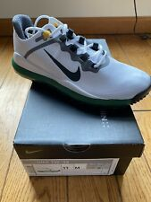*NEW* NIKE Tiger Woods TW 13 Golf Shoes Masters Green Edition - Size 11 -  MINT