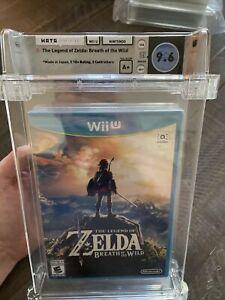 Legend of Zelda: Breath of the Wild Nintendo Wii U WATA 9.6 A+ Sealed HIGH GRADE