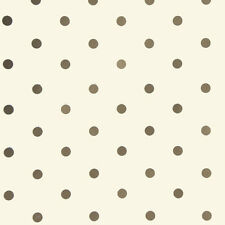 Cream with Gold Small Dots Wrapping paper,counter roll, gift wrap,500mm x 50m
