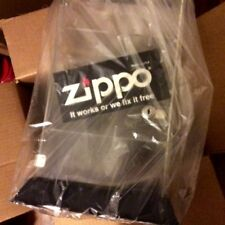 NOS Vintage Zippo Lighters Display Case Locking Countertop Acrylic #142455