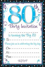 Birthday Invitation Cards For Adults Ebay