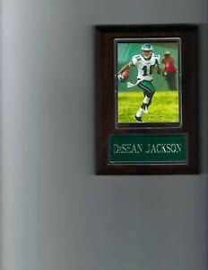 DeSEAN JACKSON PLAQUE PHILADELPHIA EAGLES FOOTBALL NFL