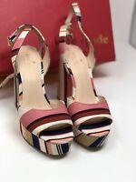 kate spade new york Womens Dellie Wedge Sandal, Multi Color, 6.5 M US
