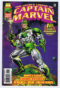 COMPLETE 3-ISSUE UNTOLD LEGEND OF CAPTAIN MARVEL SERIES - 1997 - VF/NM