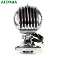 Motorcycle Microphone Style Brake Stop Taillight For Harley Chopper XS650 Bobber