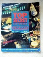 Top Secret Passwords Nintendo Player's Guide Book Codes 140+ NES SNES Gameboy