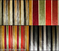 Belluti  Wide Striped Velvet Designer Curtain Upholstery Fabric-140 cm Wide