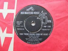 """RAY CHARLES Take These Chains From My Heart/No Letter Today UK 7"""" Single EX Cond"""