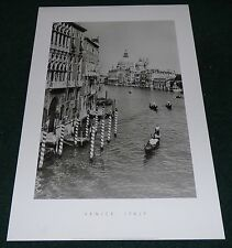 INGE MORATH VENICE ITALY 1955 POSTER PRINT GRAPHIQUE DE FRANCE PHOTOGRAPHY