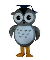 Cartoon Owl Mascot Costume Suit Adults Size Halloween Cosplay Party Fancy Dress