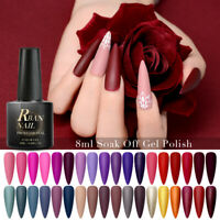 RBAN NAIL 60 Colors 8ml Nail Art Soak Off Gel Polish Manicure UV /LED Varnish