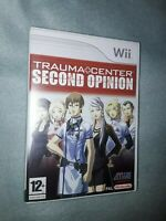Trauma Center 2nd Second Opinion  Nintendo Wii Games  complete with manual