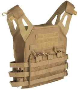 Plate Carrier Weste GEN.II coyote, Paintball, MagFed, Softair, Airsoft