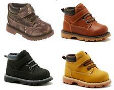 Gariamals Toddler Boys Brown, Black, Dark Brown, Camo Casual Boots Shoes: 2-6