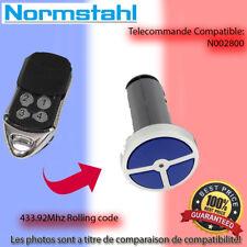 NORMSTAHL N002800  Le remplacement de la télécommande 433.92MHz
