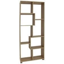 Raumteiler Regal Bücherregal Standregal Wandregal Büroregal Holzregal 8 Fächer